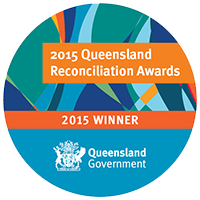 2015 queensland reconciliation awards recognition mark winner