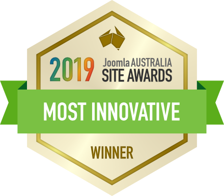 2019 joomla australia site awards most innovative winner