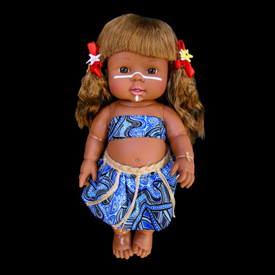 """Alira"" Bijung Jimbelung Doll (Little Friend)"