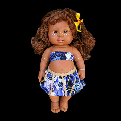 """Mahlee"" Bijung Jimbelung Doll (Little Friend)"